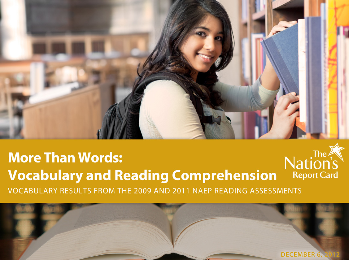 2009 and 2011 NAEP Vocabulary Report Card Cover