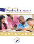 Abridged 2011 NAEP Reading Framework Cover