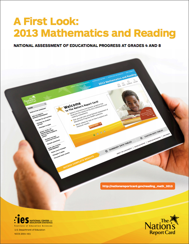 NAEP Long Term Trend 2012 Cover