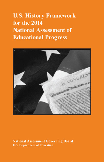 Cover of U.S. History Framework for the 2014