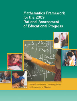 Mathematics Framework for the 2009 National Assessment of Educational Progress