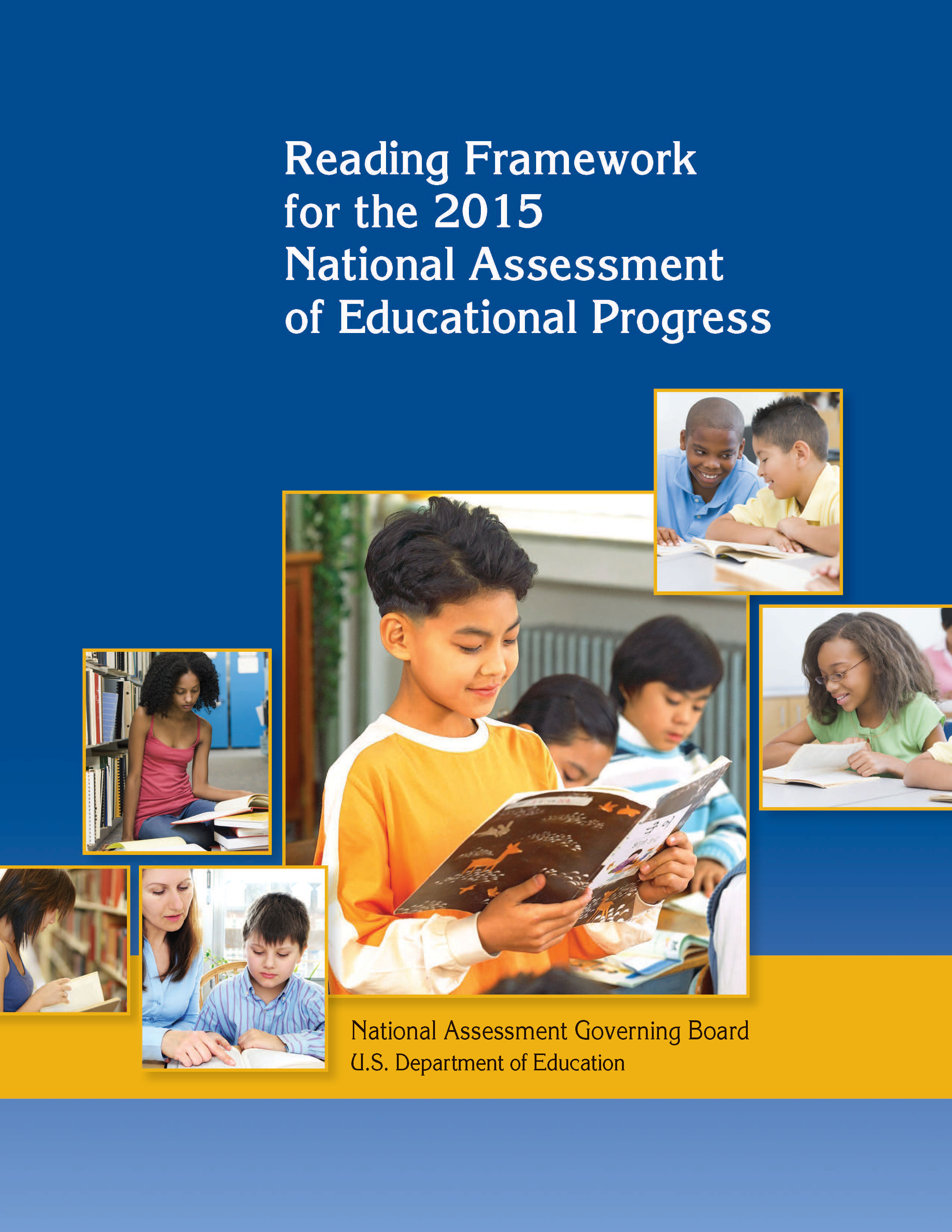 Cover of Mathematics Framework for the 2015 National Assessment of Educational Progress