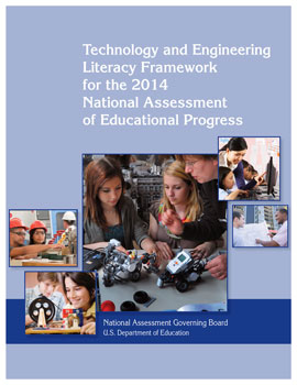 Screenshot of NAEP 2014 Technology and Engineering Literacy Framework