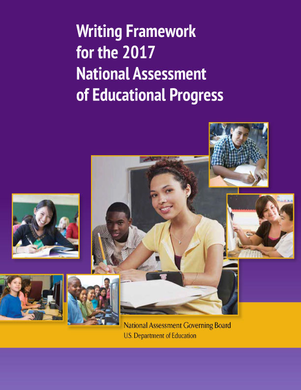 Cover of Writing Framework for the 2017 National Assessment of Educational Progress
